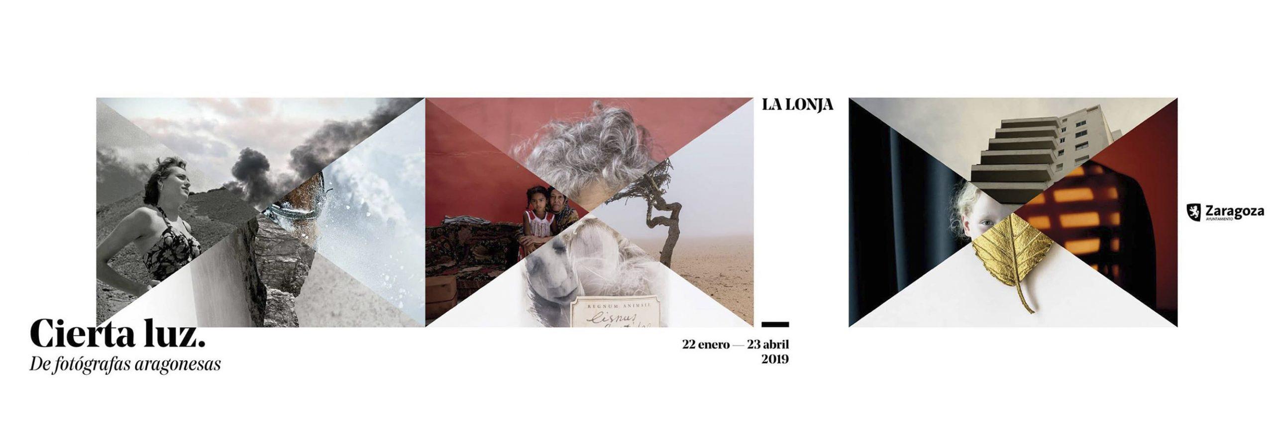 Mai Ibargüen en la exposición Cierta Luz. De fotógrafas aragonesas. La Lonja de Zaragoza