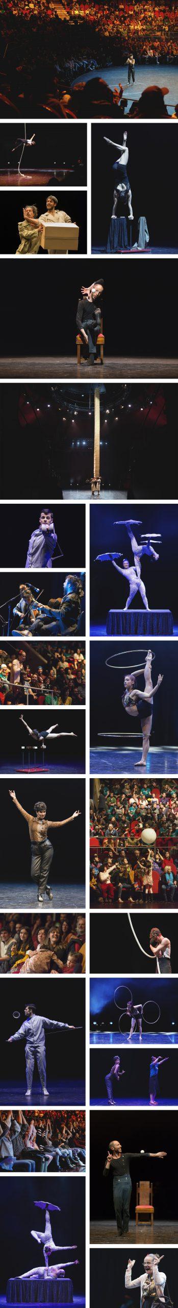 Mai Ibargüen. Fotógrafa de Artes Escénicas y Eventos especializada en Circo en Zaragoza. Gran Gala Internacional de Circo en el Teatro Circo Price de Madrid. Encuentro Eucima